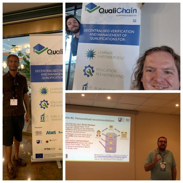 KMi and QualiChain at ESWC and JTELSS 2019