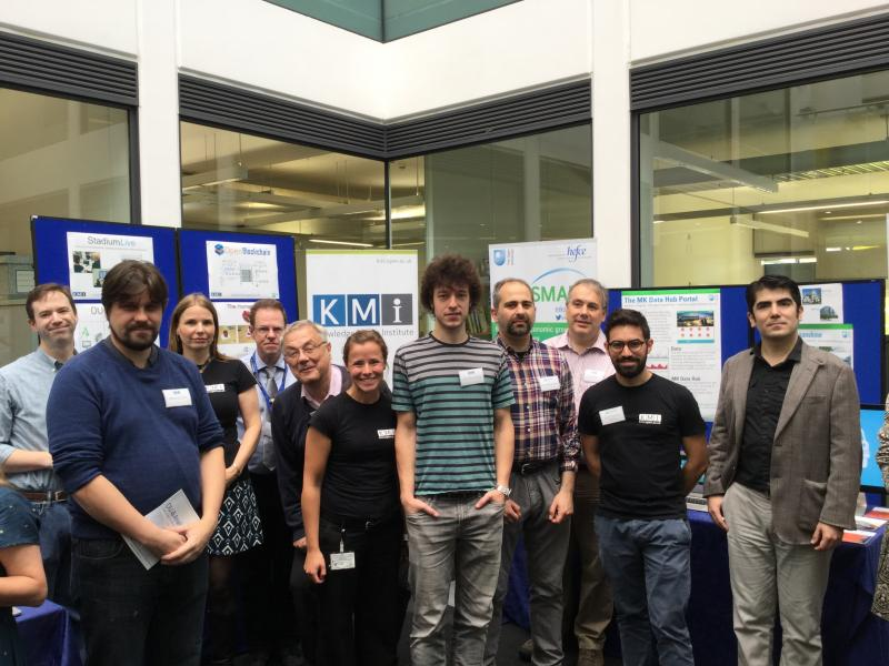 KMi Showcased at the OU's STEM Faculty Official Launch