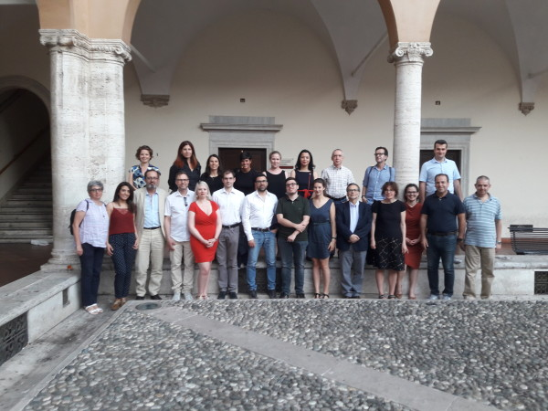 The FIT4RRI partners in the wonderful cloister of San Pietro in Vincoli